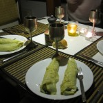 3d spinach crepes